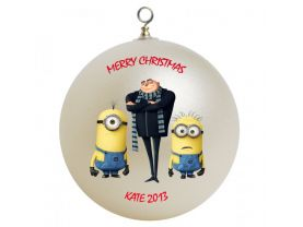 Despicable Me Personalized Custom Christmas Ornament