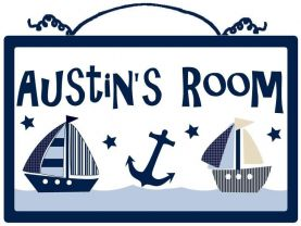 Personalized (Ships/Nautical) Wood Sign/Plaque