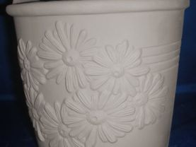 Daisy Pail - Paint Your Own Ceramics