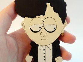 Handmade Michael the goth kid South Park Figure