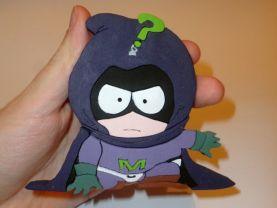 Handmade Mysterion South Park Figure