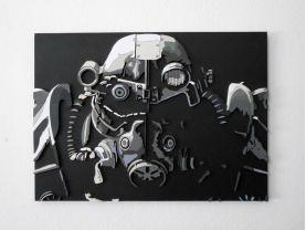 Handmade Fallout 3 wall art
