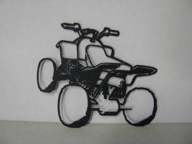 ATV Metal Art Silhouette