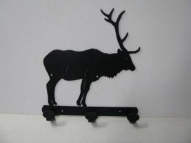 Elk 001A Standing 3 Hook Coat Rack