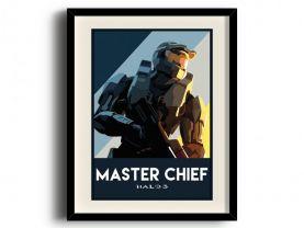 Halo 3 poster, Halo 3 digital art poster