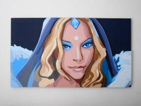 Crystal Maiden, Dota 2 portrait Large