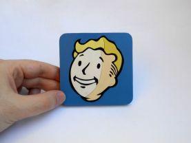 Handmade Vault Boy, Fallout coaster