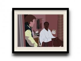 Lethal Weapon 2 minimalist poster, Lethal Weapon 2 digital art poster