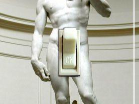 Michelangelo DAVID Switch Plate (single)