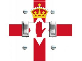 ULSTER BANNER  Double Switch Plate
