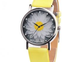 Watches Ladies Watch Pattern Casual Chic Leather Quartz 1001