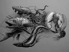 Contemporary Art, Handwork, Deep thoughts