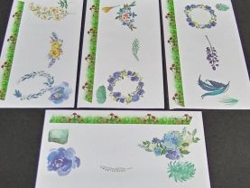 Floral Envelopes with Designer Paper Group