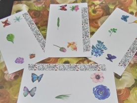 Floral and Butterfly Envelopes