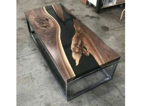 Live Edge Coffee Tables | Live Edge Solid Wood | River Live Edge Table