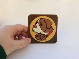 Handmade Booze Hound Bioshock Tonic coaster